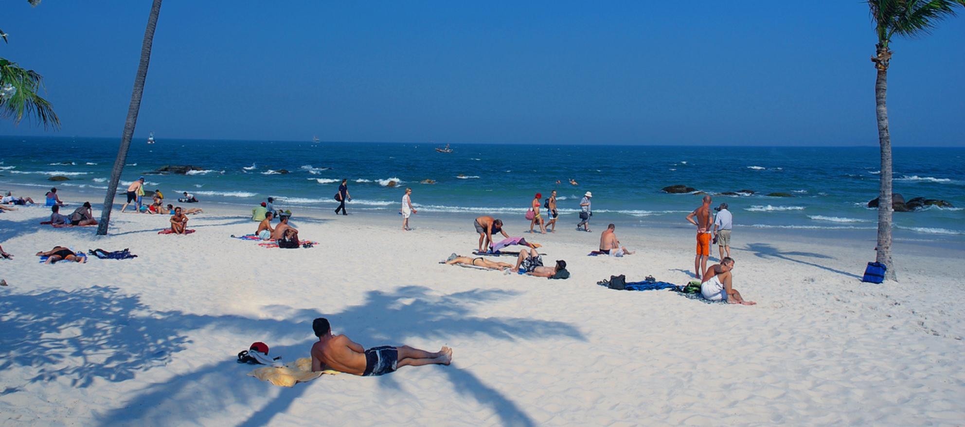 Пляжи в хуа хине фото